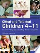 Gifted and Talented Children 4 11
