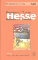 Hermann Hesse Today