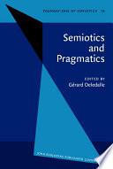 Semiotics and Pragmatics Proceedings of the Perpignan Symposium