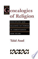 Genealogies Of Religion book