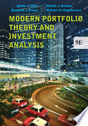 Modern Portfolio Theory and Investment Analysis  9th Edition