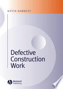 Defective Construction Work