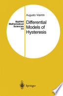 Differential Models of Hysteresis