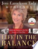 Life in the Balance Leader s Guide