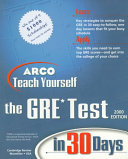 Teach Yourself the GRE in 30 Days