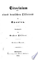 Tirocinium eines deutschen Officiers in Spanien