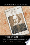 The Complete Merry Wives Of Windsor