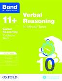 Bond 11   Verbal Reasoning  10 Minute Tests