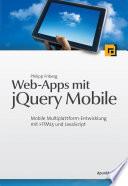 Web Apps Mit Jquery Mobile