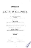 Handbuch der analytischen Mineralchemie