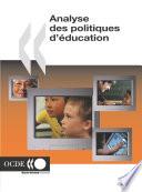 Analyse des politiques d   ducation 2004