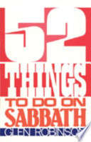 52 Things to Do on Sabbath