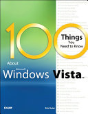 download ebook 100 things you need to know about microsoft windows vista (adobe reader) pdf epub
