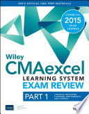 Wiley CMAexcel Learning System Exam Review 2015