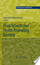 Plant Growth and Health Promoting Bacteria