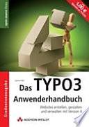Das TYPO3 Anwenderhandbuch