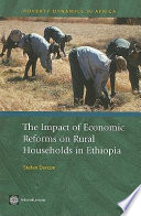 The Impact of Economic Reforms on Rural Households in Ethiopia