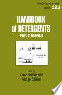Handbook Of Detergents  Part C