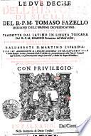 Le Dve Deche Dell  Historia Di Sicilia