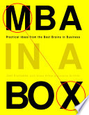 MBA in a Box A Box Brings Together Some Of The