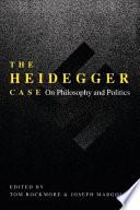 The Heidegger Case