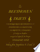 The Beethoven Duets For Clarinet Volume 1 Scherzi 1  2 and 3