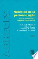 Nutrition de la personne   g  e