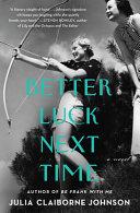 Better Luck Next Time Book PDF