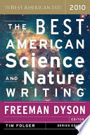 Book The Best American Science and Nature Writing 2010