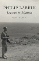 download ebook philip larkin: letters to monica pdf epub