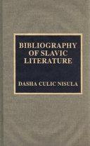 Bibliography of Slavic Literature