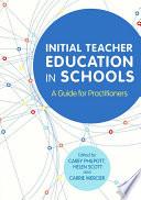 Initial Teacher Education in Schools
