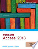New Perspectives on Microsoft Access 2013  Brief