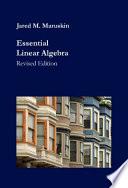 Essential Linear Algebra