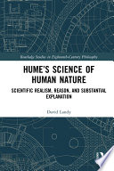 Hume   s Science of Human Nature