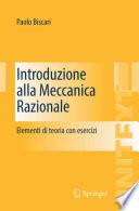 Introduzione alla Meccanica Razionale