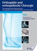 Orthopädie und orthopädische Chirurgie