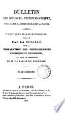 Bulletin universel des sciences et de l industrie