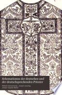 Schematismus der deutschen und der deutschsprechenden Priester