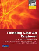 Thinking Like an Engineer:an Active Learning Approach Simulink Student Version 2010a Thinking Like