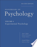 Handbook of Psychology  Experimental Psychology