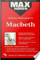 Macbeth  MAXNotes Literature Guides