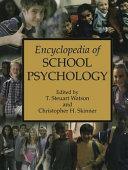 download ebook encyclopedia of school psychology pdf epub
