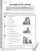 Informational Text Text Order Practice