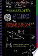 Wadsworth Guide to Research  Documentation Update Edition