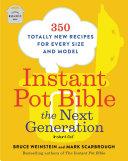 Instant Pot Bible  The Next Generation Book PDF
