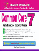 Common Core Math Exercise Book for Grade 7