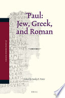 Paul: Jew, Greek, and Roman Number Of The Important And Diverse