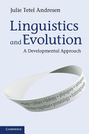 Linguistics and Evolution