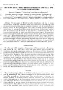 British Journal of Entomology and Natural History